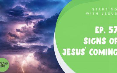 Sabbath School Episode 56 – Signs of Jesus' Coming