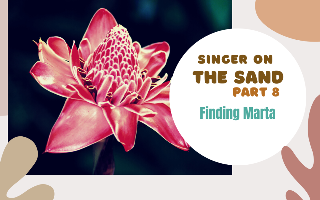 Singer On The Sand | Part 8 – Finding Marta